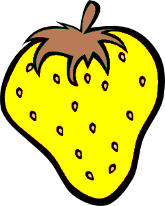 Yellow Strawberry Image