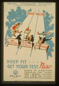 Keep Fit ... Get Your Test Now  / Kreger. Image