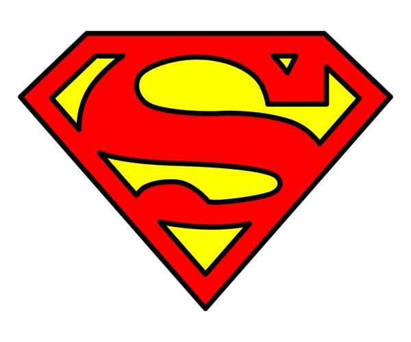 superman logo vetor free images at clker     vector