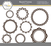 Round Clipart Frame Image