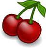Rocket Fruit Cherries Clip Art