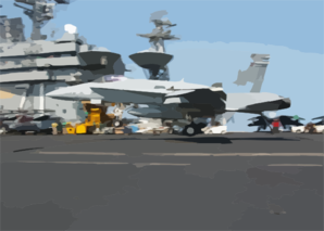 10,000th Carrier Landing Cvn 71 Deployment Clip Art