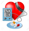 Blood Pressure Monitor Clipart Image