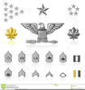 Us Army Major Rank Clipart Image