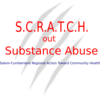 Scratch Out Substance Abuse Logo Final (lighter) Clip Art
