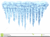 Frozen Icicles Clipart Image