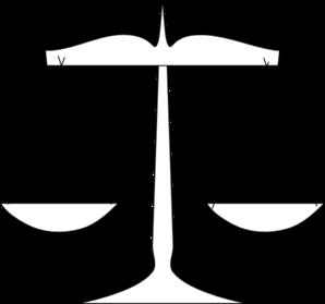 Scale Of Justice Clip Art at Clker.com - vector clip art ...