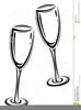 Free Glass Of Wine Clipart Image
