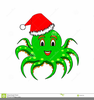 Funny Christmas Cartoon Clipart Image