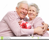 Free Clipart Elderly Couple Image