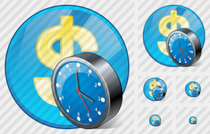 Company Business Clock Image