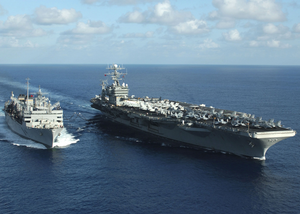 Uss Supply And Uss George Washington Image