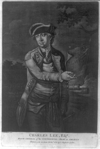 Charles Lee, Esq R. - Major General Of The Continental Army In America  / Thomlinson Pinxt. Image