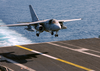 An S-3b Viking Prepares To Land Aboard The Aircraft Carrier Uss John F. Kennedy (cv 67). Image