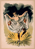[woman In Dance Costume Dancing On Flower] Image