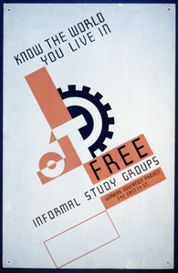 Know The World You Live In Free Informal Study Groups : Workers Education Project. Image
