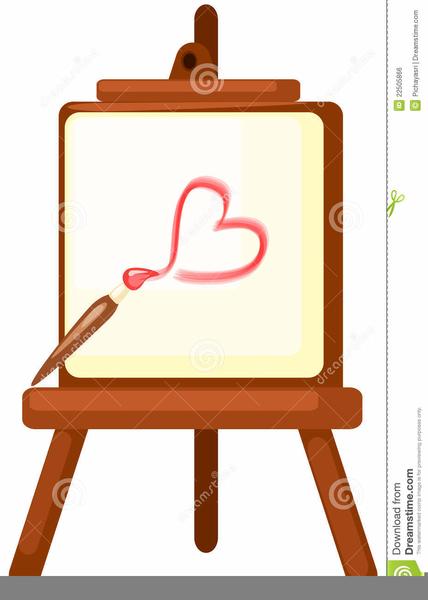 Art Easel Clipart | Free Images at Clker.com - vector clip ...