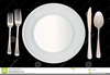 Free Dinner Setting Clipart Image