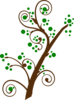 Blooming Tree Branch Clip Art
