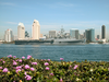 The Amphibious Transport Dock Uss Ogden (lpd 5) Sails Past Downtown San Diego, Calif. On Its Way To Loved Ones Waiting Pier Side At Naval Base San Diego. Image