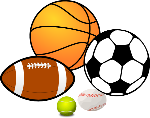 play sports clip art at clker com vector clip art online royalty rh clker com sports equipment clipart black and white sports equipment clip art free