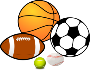 play sports clip art at clker com vector clip art online royalty rh clker com sports equipment clipart