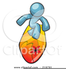 Free Clipart Surfer Dude Image