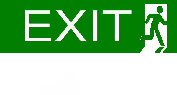 exit clip art at clker com vector clip art online royalty free rh clker com exit login exit logo download