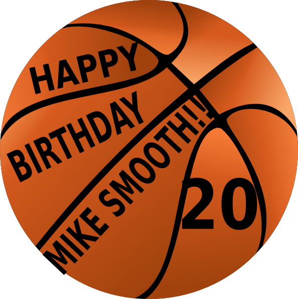 Happy Birthday Mike Smooth Clip Art At Clker Com Vector