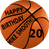 Happy Birthday Mike Smooth Clip Art