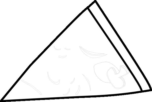 Plain Piece Pizza Clip Art at Clker.com - vector clip art ...