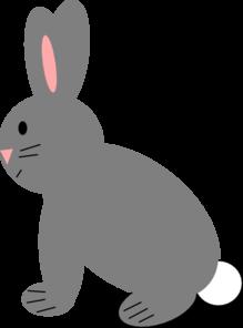 Rabbit Clip Art At Clker Com Vector Clip Art Online