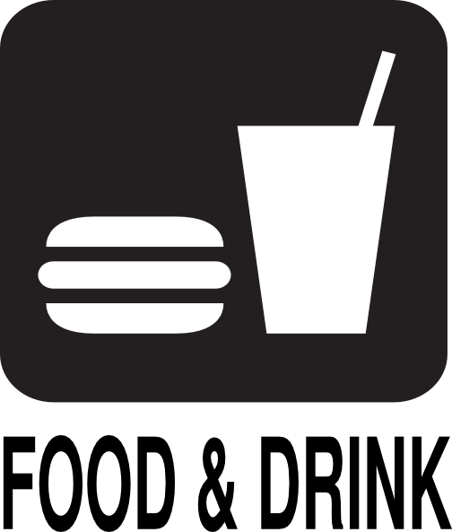 food drink road sign clip art at clker com vector clip art online rh clker com food and drinks clip art food and drink clip art free
