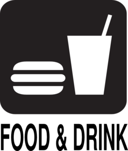 Food Drink  Road Sign Clip Art