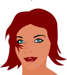 Pretty Girl Clip Art at Clker.com - vector clip art online ...