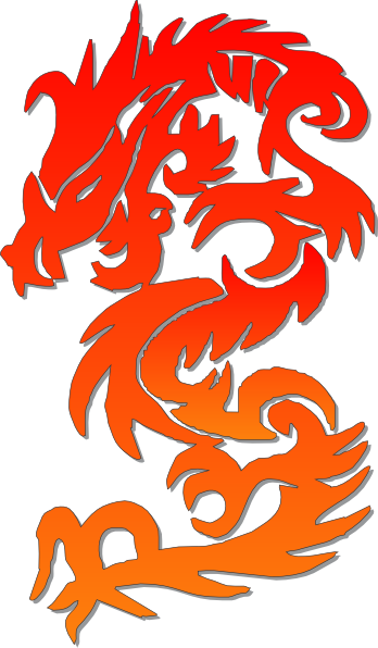 Chinese Dragon Clip Art at Clker.com - vector clip art online, royalty ...