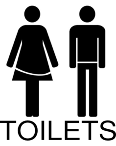 Female And Male Toilets Clip Art At Clker