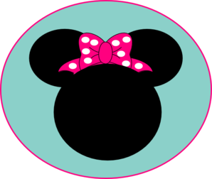 Pink Mouse Bow Clip Art