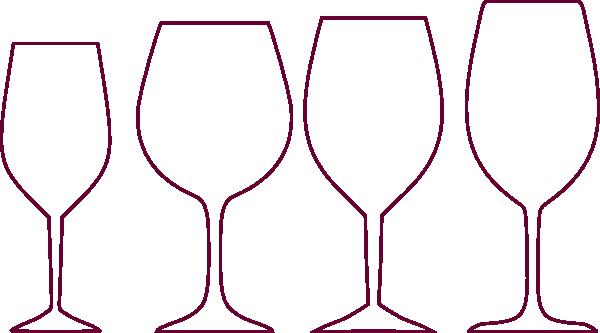 Wine Glasses Clip Art at Clker.com - vector clip art online, royalty ...