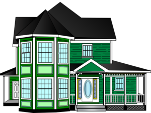 Jungle House Clip Art