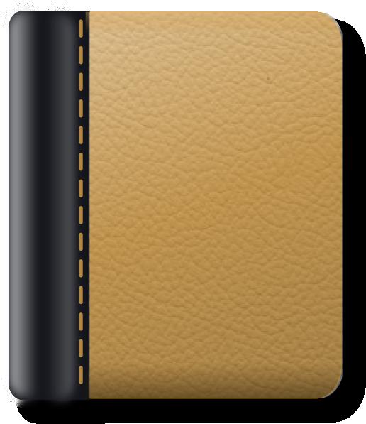 Leather Notebook Clip Art at Clker.com - vector clip art ...