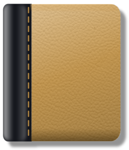 Leather Notebook Clip Art
