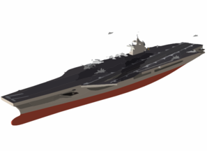 An Artist S Conceptual Drawing Of The U.s. Navy S Newest Aircraft Carrier Clip Art