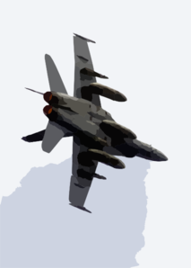 N F/a-18c Hornet Makes A Tight Turn In Full Afterburner While Conducting A Fly-by Over Uss Constellation (cv 64) During Practice For Constellation Clip Art