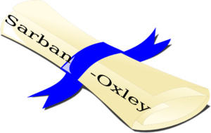 Sarbanes Oxley Scroll Clip Art