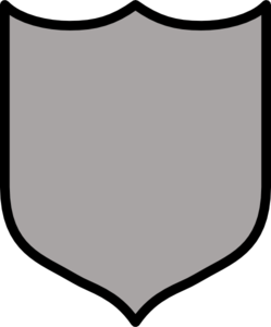 Silver Shield Clip Art