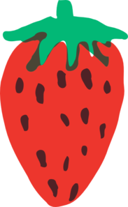 Strawberry 16 Clip Art