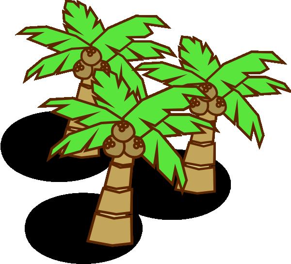 Coconut Trees Clip Art at Clker.com - vector clip art ...