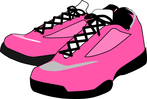 Running, Shoes Clip Art at Clker.com - vector clip art ...