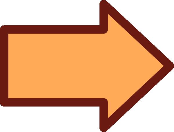 Orange Arrow Clip Art at Clker.com - vector clip art ...